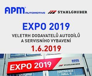 APM Automotive a Stahlgruber CZ zvou: Přijďte si s námi opět užít EXPO 2019