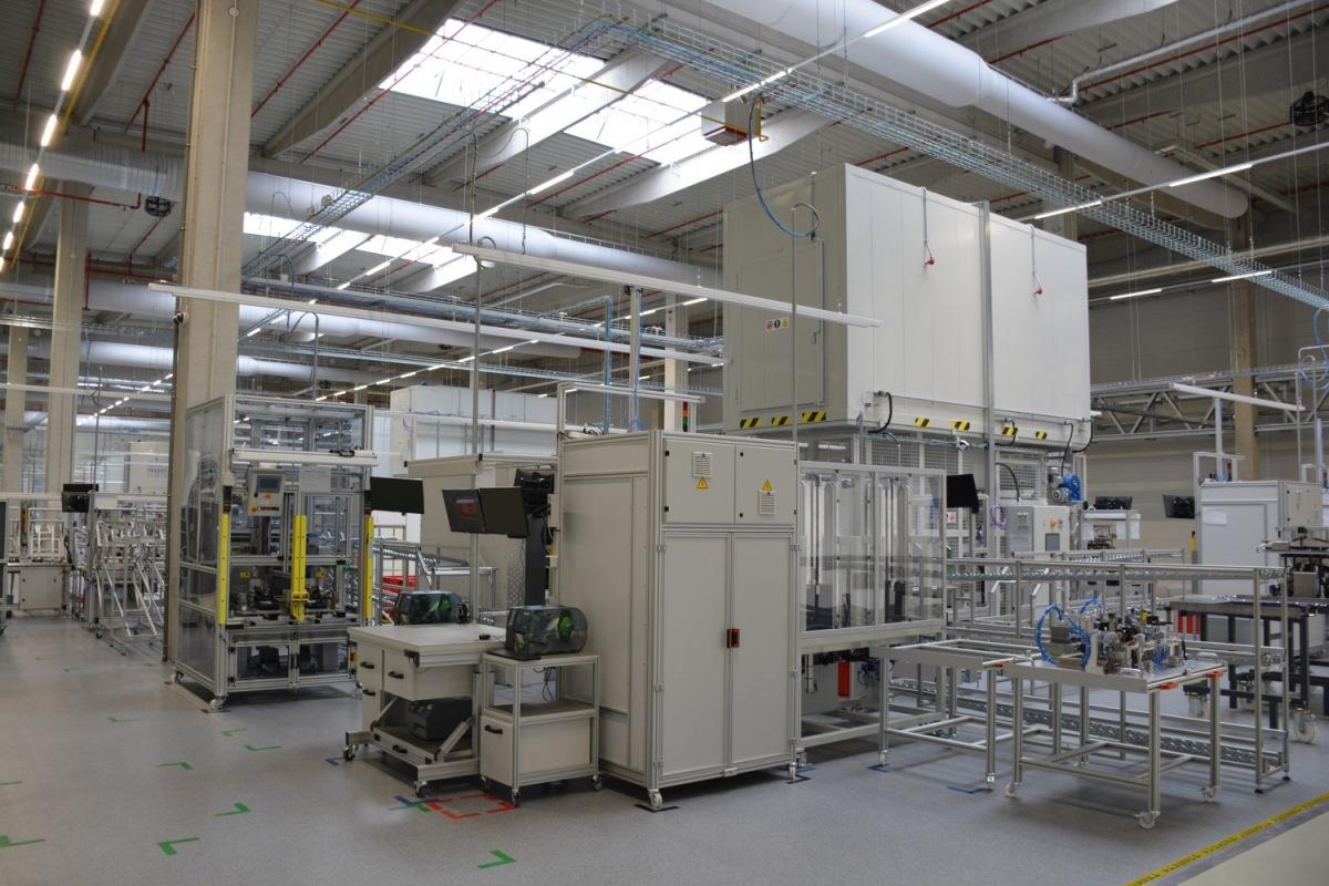 Nová výrobní hala Varoc v Novém Jičíně