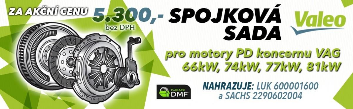Akční ceny na spojkovou sadu Valeo pro motory PD u J+M Autodíly
