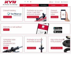 Neustálá technická podpora od KYB