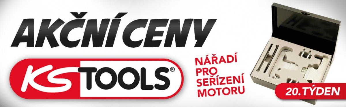 Akční ceny na nářadí pro seřízení motoru KS Tools u J+M Autodíly
