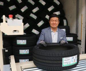 Nová továrna Nexen Tire u Žatce slavnostně vyexpedovala první pneumatiky
