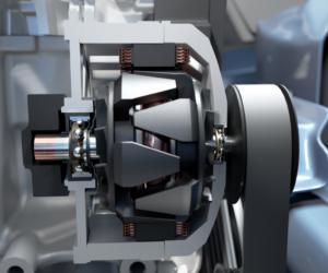 Společnost SKF představila pokročilou technologii v oblasti ložisek pro elektrická vozidla