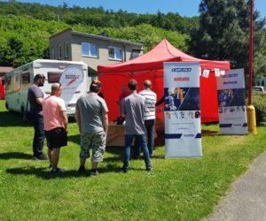 Zastávka akce Lakýrník Camp 2019 v Hranicích se vydařila