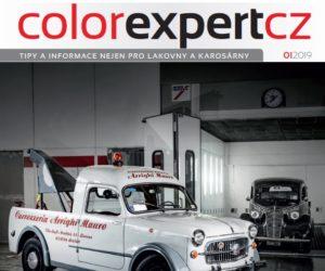 Aktuální číslo magazínu firmy Interaction Color Expert je k dispozici