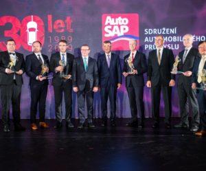 AutoSAP ocenil nejúspěšnější firmy v historii soutěže Podnik roku v automobilovém průmyslu