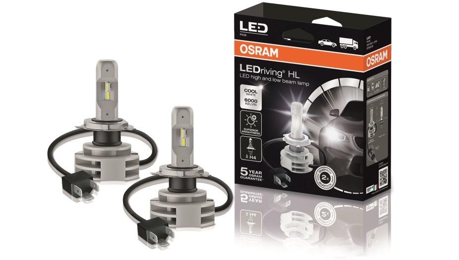 LED žárovky Osram LEDriving® HL nově u Stahlgruberu