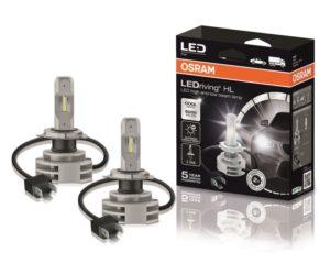 Nově v nabídce Stahlgruberu LED žárovky Osram LEDriving® HL