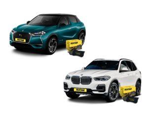 Textar brzdové destičky nově pro vozy DS DS3 a BMW X5