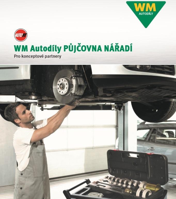 Firma WM Autodíly inovovala půjčovnu speciálních přípravků