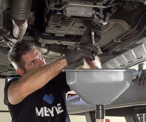 Krok za krokem k výměně oleje v automatických převodovkách s Meyle-Original sadami