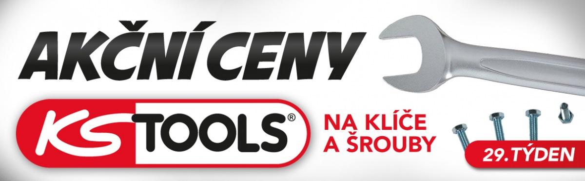 Akční ceny na klíče a šrouby KS Tools u J+M Autodíly