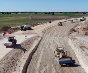 Nokian Tyres buduje vysokorychlostní oválnou trať uprostřed španělských polí