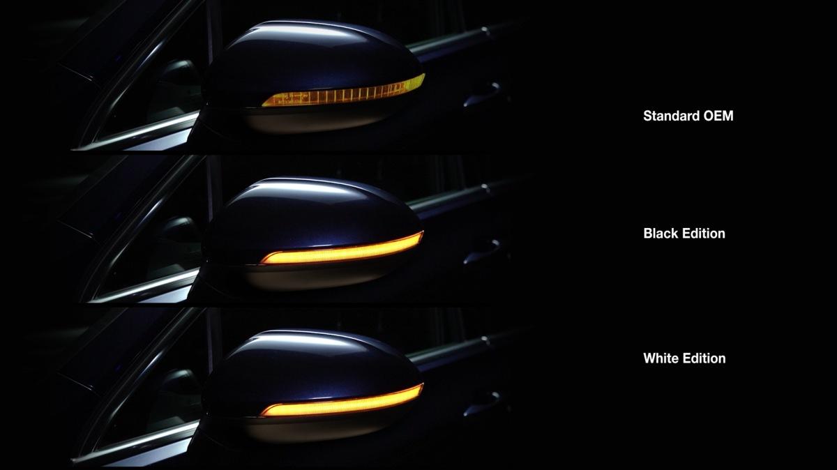 Osram LEDriving integrovaná do vnějších zpětných zrcátek