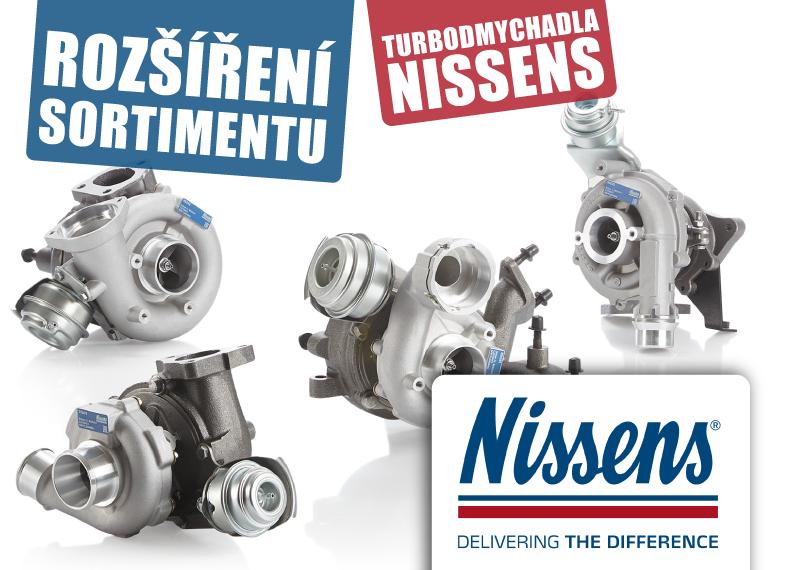 AD Partner nově nabízí turbodmychadla Nissens