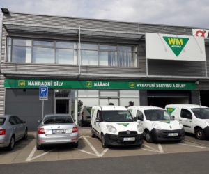WM Autodíly – pobočka v Plzni již také v zeleném