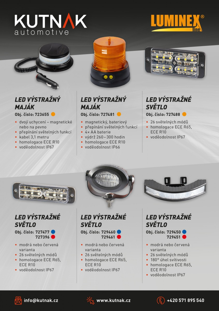 Privátní značka LuminexLine od Kutnak Automotive