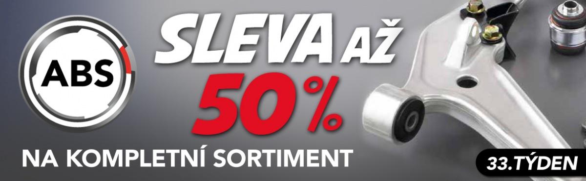 Akční ceny na sortiment ABS u J+M autodíly