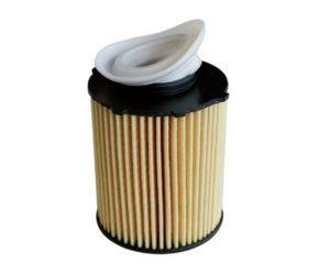Opatrně při výměně olejového filtru s ochranou proti zpětnému toku