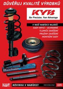 Hart rozšiřuje svou nabídku o produkty KYB