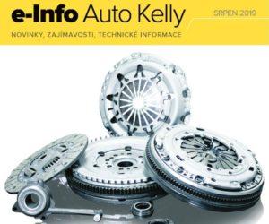 Auto Kelly: e-info srpen 2019