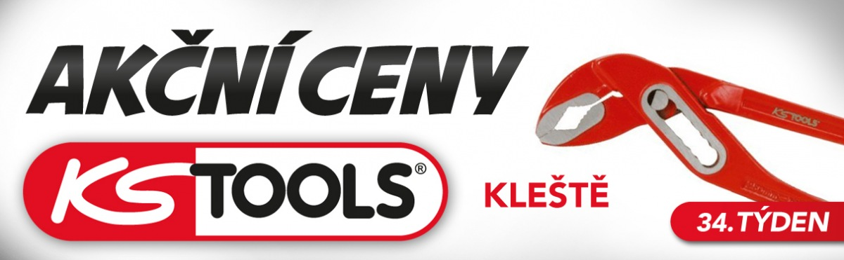 Akční ceny na kleště KS Tools u J+M autodíly