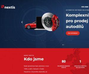 Firma Nextis aktualizovala své webové stránky