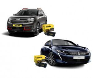 Textar nově nabízí brzdové destičky pro nový Peugeot 508 a Škodu Scala