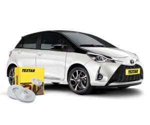 Brzdové kotouče Textar pro nový Toyota Yaris