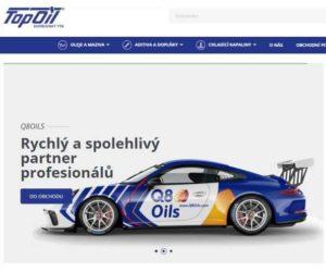 Top Oil Services spustil nový e-shop