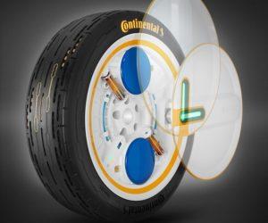 Continental navrhuje pneumatiku budoucnosti