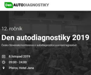 Den autodiagnostiky 2019 – přihlaste se již nyní