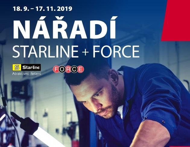 Akční ceny na nářadí Starline a Force u Elitu