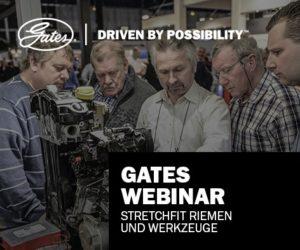 Gates spouští webináře jako technickou podporu mechaniků