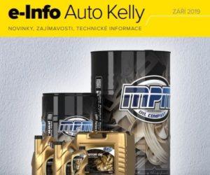 Auto Kelly: e-info září 2019