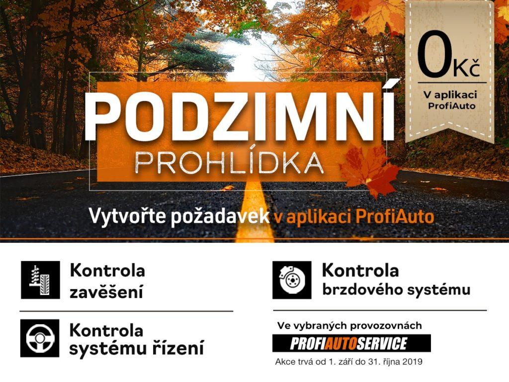 Bezplatná podzimní prohlídka u ProfiAuto