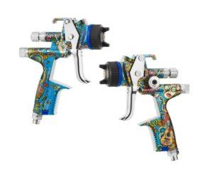 Na trhu je limitovaná edice pistole SATAjet X5500 ve stylu Hippie