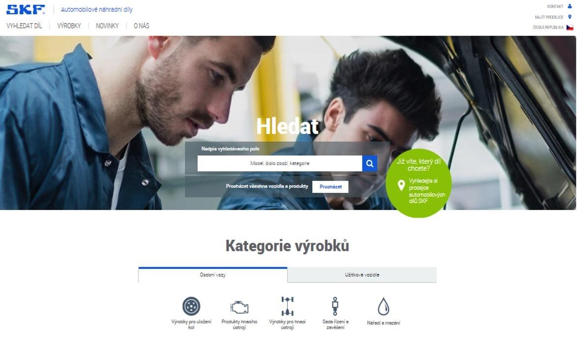Online katalog SKF
