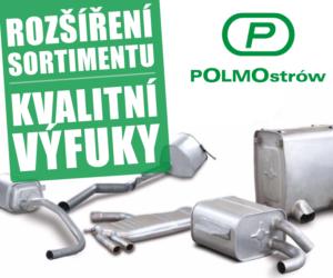 AD Partner rozšířil sortiment o výfuky POLMOstrów