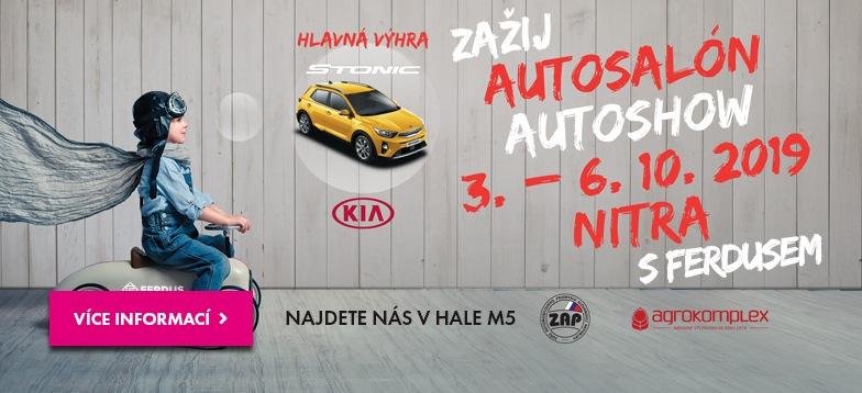 Firma Ferdus opět vyráží na Autosalon Autoshow Nitra 2019