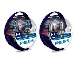 Vlastnosti halogenových žárovek Philips