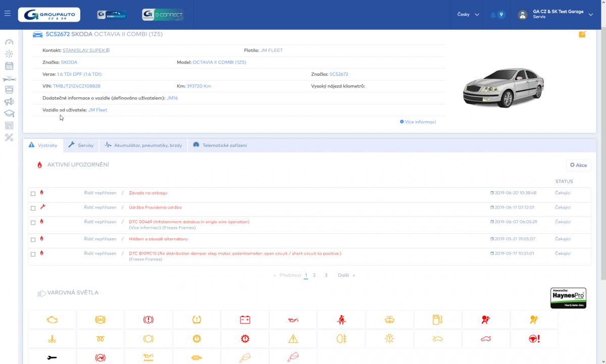 GNM pro autoservis od J+M autodíly