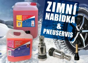 AD Partner rozšířil nabídku zimních kapalin a příslušenství pro pneuservis