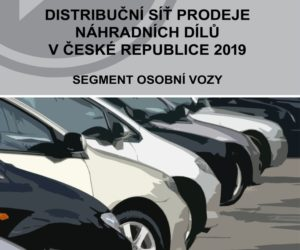 Analýza: Distribuční síť prodeje náhradních dílů pro osobní vozidla v České republice 2019