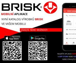 Brisk představuje mobilní aplikaci s katalogem výrobků