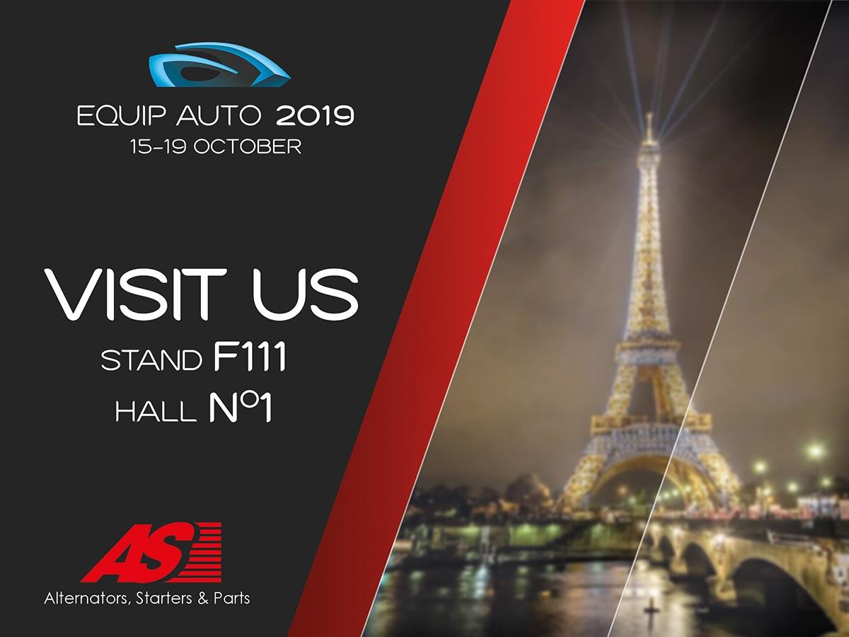 AS-PL zve na Equip Auto v Paříži