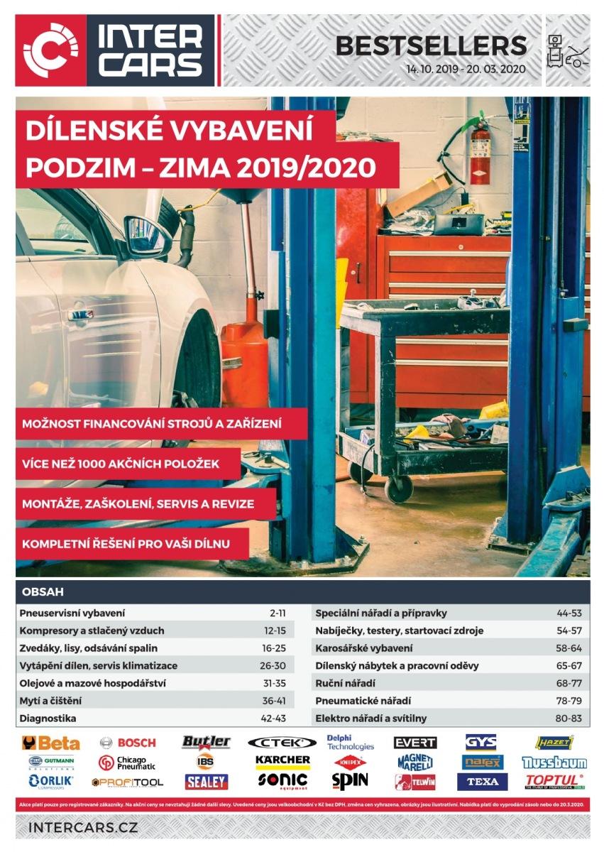 Akční ceny na dílenské vybavení podzim/zima u Inter Cars