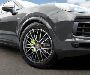 Hankook dodává vysoce výkonné pneumatiky pro Porsche Cayenne