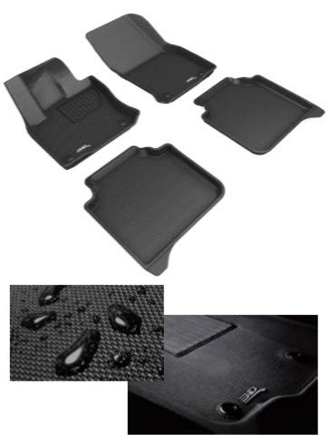 Koberce 3D se zvýšenými okraji v sortimentu Auto Kelly