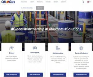 Společnost Q8OILS má nový web